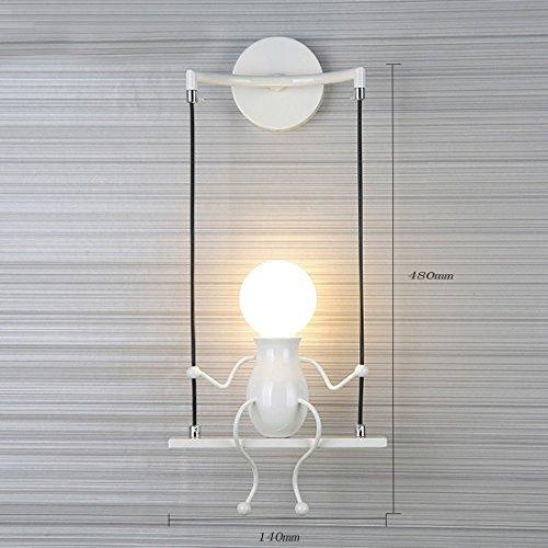 Lampada da parete E27 Applique da parete interni Design applique LED ...