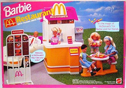 barbie-mcdonalds-restaurant-with-talking-drive-thru-playset-1994
