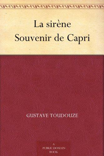 Couverture du livre La sirène Souvenir de Capri