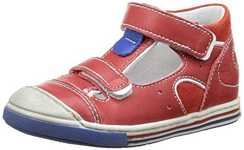 Little Mary Vic, Sneakers Hautes garçon Rouge (Nappa Rouge)