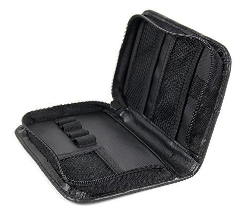 DuraGadget schwarze Tasche mit Netzfächern und Innenschlaufen für GoPro HERO4 Session / Surf / 5 / LCD / Black / Silver / Wi-Fi BackPack and LCD BackPack Action Kameras (Gopro Wifi Backpack)