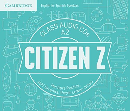 Citizen Z A2 Class Audio CDs (4) - 9788490369852