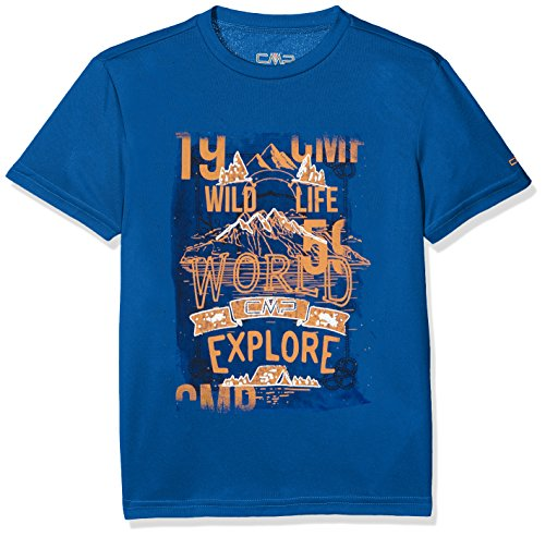 CMP Jungen T-Shirt, blau (Zaffiro), 164.0