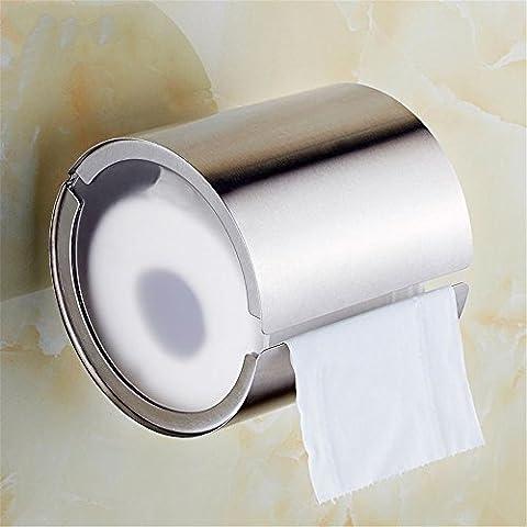FHLYCF 304 edelstählen wc, wc, kreative zylinder papier handtuchhalter, rollen papier, toilettenpapier rack, toilettenpapier rack, bad - box