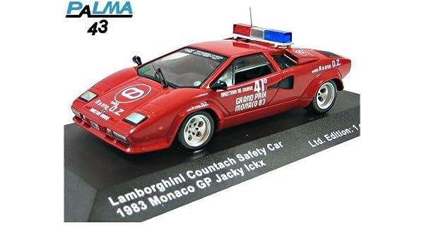 Palma 1 43 Lamborghini Countach Safety Car 1983 Japan Import