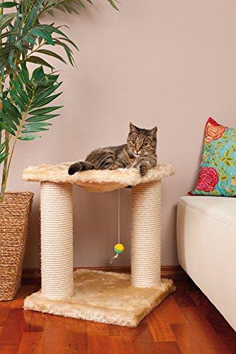CLEVERCAT Kratzbaum Modell Louisa. Das Mini Modell findet überall Platz. Made in Germany 4975
