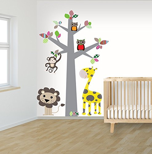 decodeco-arbol-selva-multi-color-adhesivo-mural-de-la-pared-vinilo-bricolaje-decoracion-para-cuarto-
