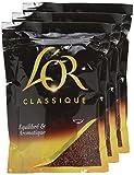 L'Or Café Soluble Classique Eco Recharge 180 - Lot de 4