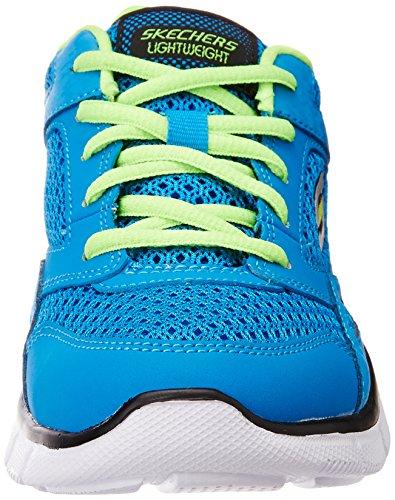 Skechers Equalizer Jungen Sneakers Blau (Bllm)