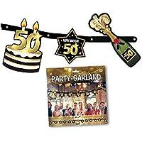 50 Anni Di Compleanno Ghirlande Festoni E Coriandoli Decorazioni