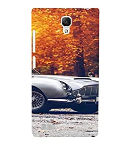 PrintVisa Vintage Car Design 3D Hard Polycarbonate Designer Back Case Cover for Xiaomi Redmi Note Prime