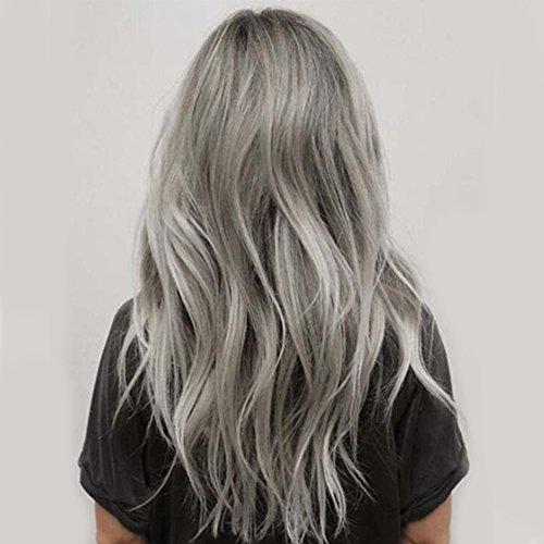 100ml unisex Hair Farbe Smoky Grau Hair Dye Farbe Creme Punk Stil hellgrau silber Permanent