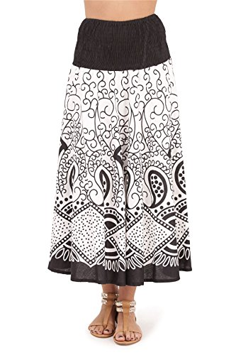 Pistachio, Robe jupe courte pour vacances d'été deux en un pour femmes Noir 3