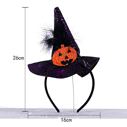 Spider Web Kürbis - SunBai Halloween Kürbis kindergarten Konzert zeigen