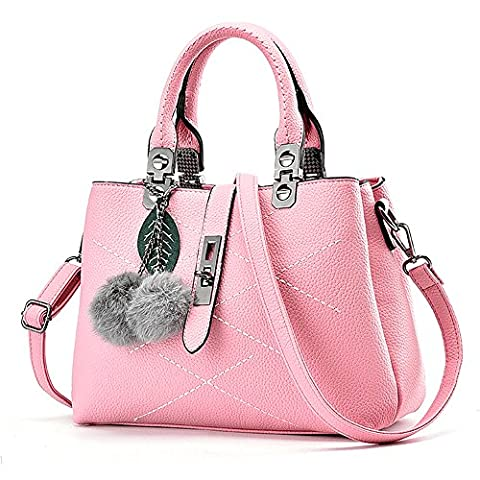 GoodPro Women Bags Women Handbags Elegant Fashion Handbags for Women Totes Purse Shoulder Bags GPG116 (Pink)