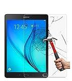DETUOSI® Samsung Galaxy Tab A 9.7'' Pellicola Protettiva Film Screen Protector Ultra Resistente in Vetro Temperato Protezione Schermo,per Samsung Galaxy Tab A 9.7 SM-T550/SM-T555 Tablet