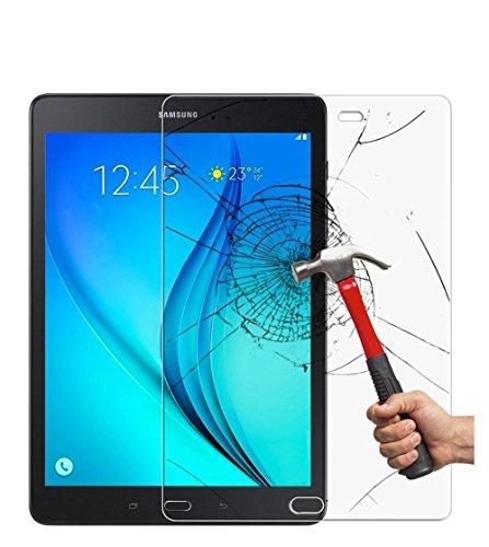 1 X Galaxy Tab A 9.7 folie, Glasfolie 9H Hartglas Tempered Glass Displayschutz Panzerglas Schutzfolie für Samsung Galaxy Tab A T550/T555 Screenguards
