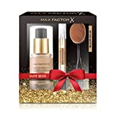 Max Factor Geschenkset (Facefinitiy All Day Flawless 3 in 1 Foundation, Mastertouch All Day Concealer, Foundation Brush), natural/ivory, 1er Pack (1 x 150 g)