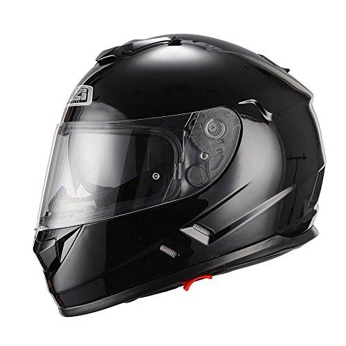 NZI Casco de moto integral Symbio negro S