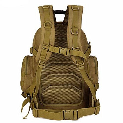 Mefly 40 L Wasserdichtes Nylon Taktiken Militärischen Angriff Rucksack Pack khaia