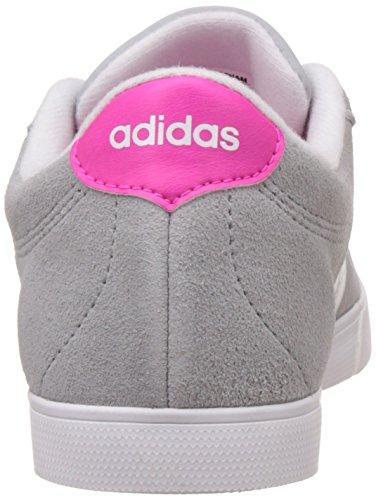 adidas Damen Courtset W Turnschuhe, Schwarz Gelb (Onicla / Ftwbla / Rosimp)