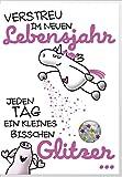 Humor Geburtstag Karte Grußkarte Extra Konfetti Lebensjahr Glitzer 16x11cm
