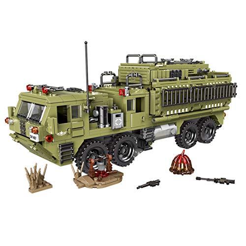 Searchyou - 1377 Stück Scorpio Schwerer LKW Heavy Truck Bausteine Bausatz Bausteine Modell Spielzeug, DIY Military Serie Panzer Building Bricks Block Spielzeug