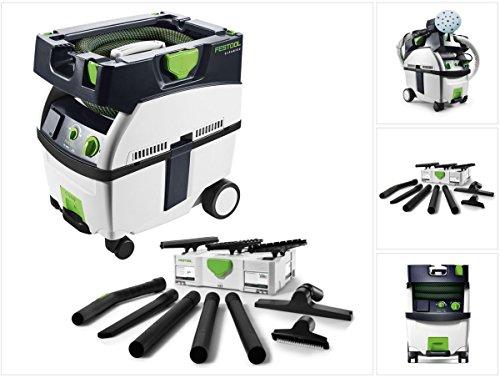 Festool Staubsauger (Festool Absaugmobil CTL MIDI CLEANTEC Sauger + Festool Reinigungsset D 27 / D 36 K-RS-Plus im Systainer)