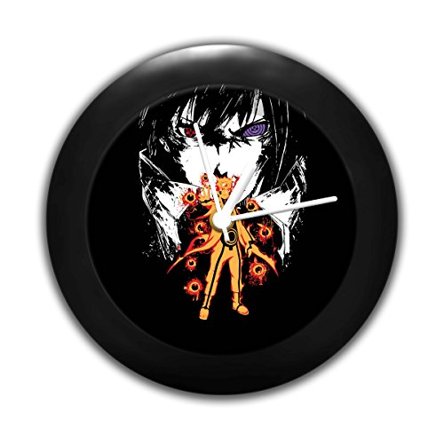 Mc Sid Razz Comic Sense Naruto vs Sasuke | Table Clocks |Desk Clock | Table Clock for Home Decor |Table Clock for Office 51fWR0LtSHL