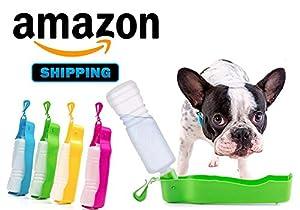 Gamelle chien, pliable Voyage Dog Bowl, Cat Bowl Portable Pet Food Abreuvoir portable, Dish Pliable pour animaux de compagnie
