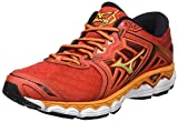 Mizuno Wave Sky, Chaussures de Running Homme, Multicolore (Grenadine/Limepunch/Black), 42.5 EU
