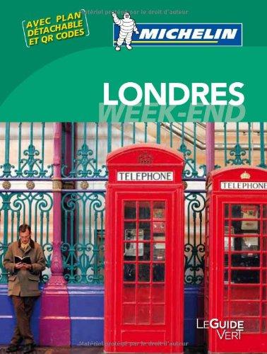 Le Guide Vert Week-end Londres Michelin par Collectif Michelin