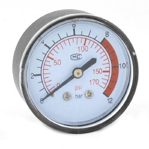 Preisvergleich Produktbild Sourcingmap a13100700ux0919Hydrovane Luftdruck Manometer Kompressor 0-170PSI 0-Instrument von 12Bar