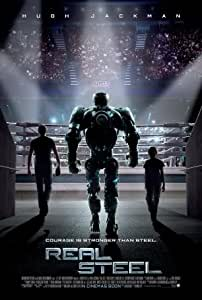 REAL STEEL - HUGH JACKMAN - Imported Movie Wall Poster Print - 30CM X 43CM Brand New
