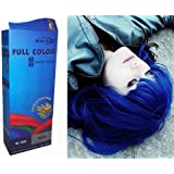 Teinture Coloration Cheveux Permanente Goth Emo Elfe Cosplay bleu