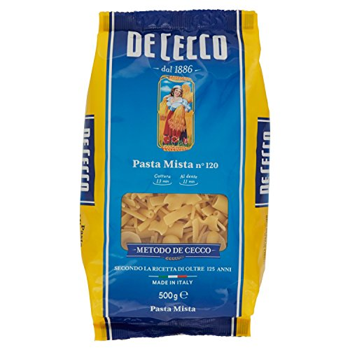 De Cecco Pasta Mista di Semola di Grano Duro - 500 gr