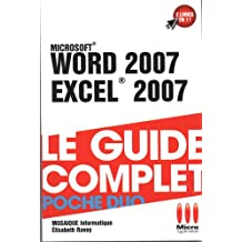 COMPLET POCHE DUO£WORD 2007 EXCEL 2007