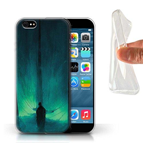 Offiziell Chris Cold Hülle / Gel TPU Case für Apple iPhone 6S / Pack 10pcs Muster / Dunkle Kunst Dämon Kollektion Bösen Herzens