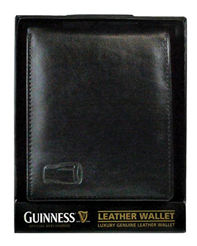 guinness-mens-black-leather-wallet