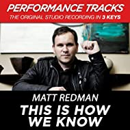 This Is How We Know (Performance Tracks) - EP