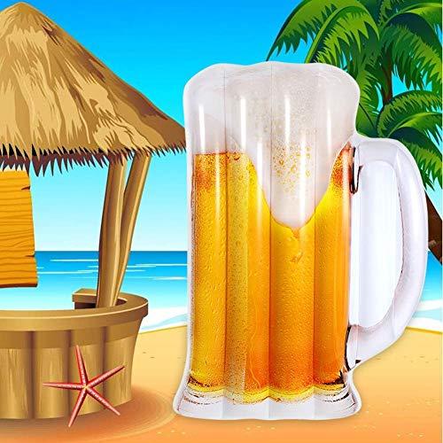 Augproveshak Tragbare Schlauchboot Pool Liege Wasser Hängematte Bier Tasse Form Schwimmbad Schwimmstuhl Kompakte Schwimmbad Mat
