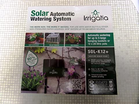 Irrigatia SOL-K12 Fully Automatic Solar Drip Watering System