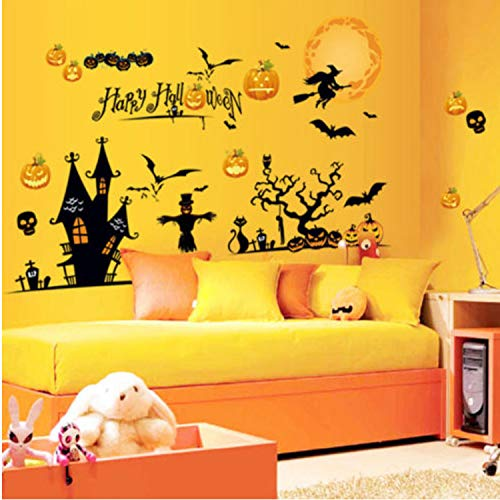 y Unten Karneval Moment Wandaufkleber Room Store Fensteraufkleber 130 * 170 cm ()