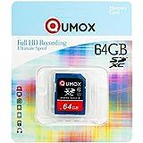 QUMOX 64GB Go SDXC MEMORY CARD carte mémoire CLASS 10 UHS-I Grade 1