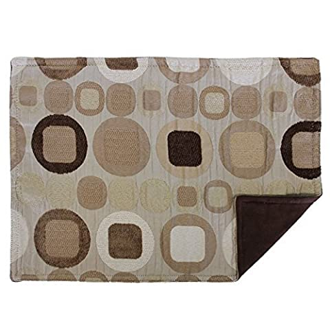 Sherry Kline Metro Taupe Placemat (Set of 4) by Sherry Kline Table Linen