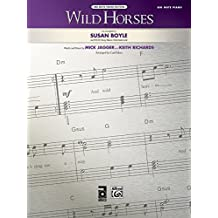 Wild Horses, Big Note Piano Edition