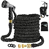 Avyvi 100FT Expandable Garden Hose Pipe,Flexible Expanding Magic Hose With Multi Spray Watering