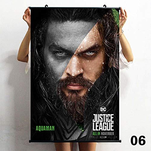 TS.13 Aquaman Affiche Murale pour Dortoir Peinture Décor À La Maison Imperméable Art Print
