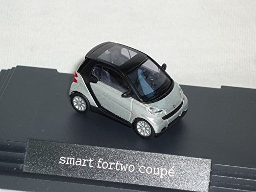 Smart Fortwo For Two 2 Coupe 2 TÜrer Silber Metallic C451 Ab 2007 Ho H0 1/87 Busch Modellauto Modell Auto