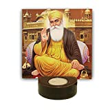 #5: TYYC Sikh Gifts, Blissful Guru Nanak Dev Ji Tealight Candle Holder home, office, Religious sikh gifts gurupurab Set of 1